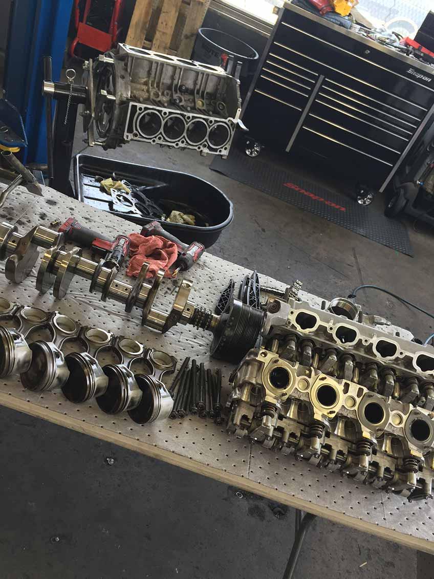 Ferrari repair and maintenance